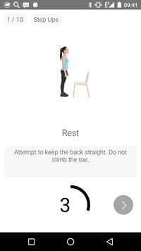 7 Minutes Women Workout screenshot 1