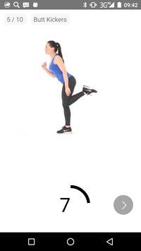 7 Minutes Women Workout screenshot 3