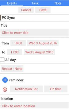 BadeSaba Persian Calendar apk screenshot