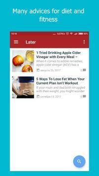 Weight loss: diet plan & fitness app screenshot 3