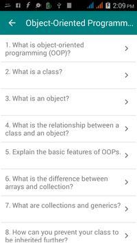Dot NET Interview Questions apk screenshot