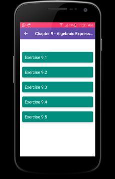 8th Class Maths Solutions - CBSE screenshot 3
