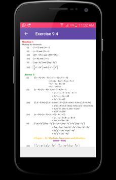 8th Class Maths Solutions - CBSE screenshot 4
