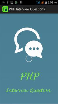 PHP Interview Questions poster