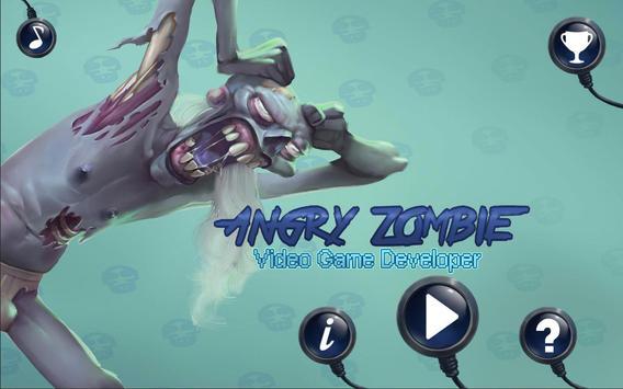 Angry Zombie: Video Game Dev apk screenshot