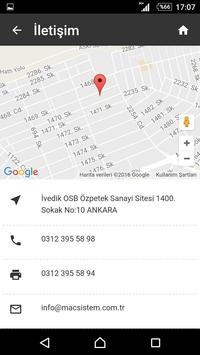 Mac End.Mak. İml. Tic.Ltd.Şti. apk screenshot