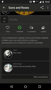 Koncert apk screenshot