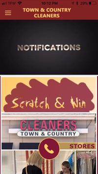 Town & Country Cleaners poster