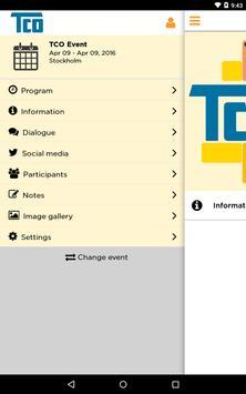 TCO Event apk screenshot