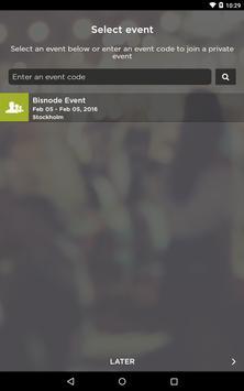 Bisnode Events poster