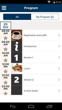 SBR meetings apk screenshot