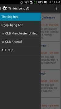 Tin bóng đá tổng hợp screenshot 4
