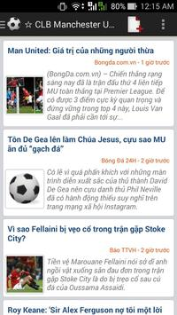 Tin bóng đá tổng hợp poster