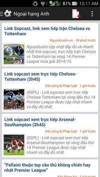 Tin bóng đá tổng hợp screenshot 2