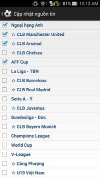 Tin bóng đá tổng hợp screenshot 3