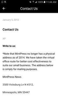 MintPress News apk screenshot