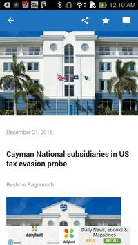Cayman Reporter screenshot 2