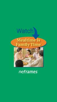 Mealtime is Family Time poster