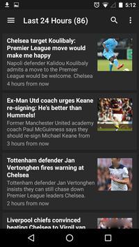 Chelsea News apk screenshot