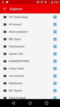 Arsenal News apk screenshot