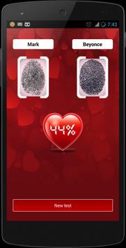 Fingerprint love calculator screenshot 1