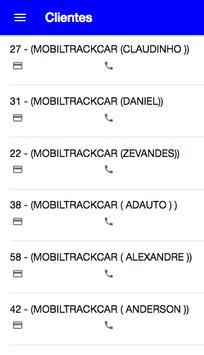 MOBILTRACKCAR screenshot 1