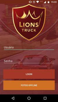 Lions Truck poster