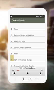 Workout Music screenshot 2