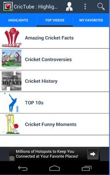 Crictube Cricket Highlights For Android Apk Download