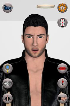 Talking Macho Man apk screenshot