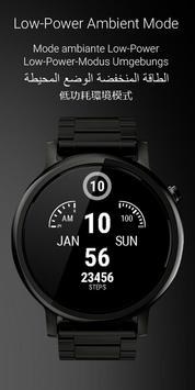 Watch Face Clockster apk screenshot