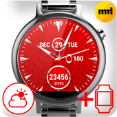 Watch Face Red Art icon