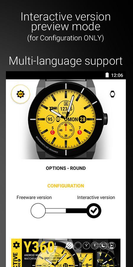 Watch Face Y360 for Android - APK Download