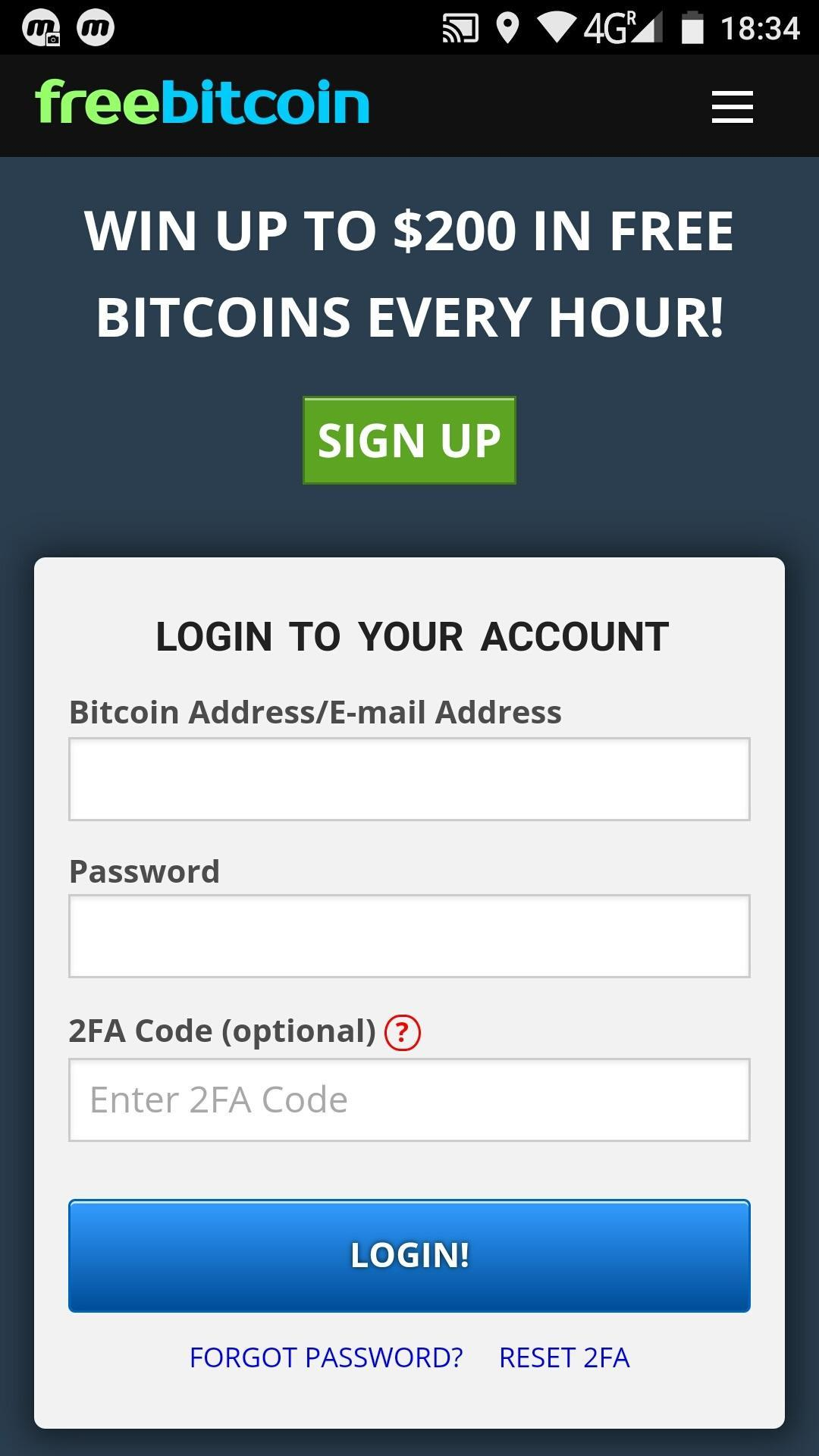 Free BTC for Android - APK Download