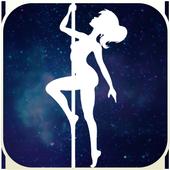Girl Pole Climbing icon