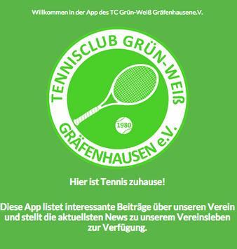 TC Grün-Weiß Gräfenhausen APP poster