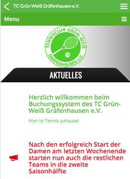 TC Grün-Weiß Gräfenhausen APP apk screenshot