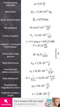 Tablice maturalne - Fizyka apk screenshot
