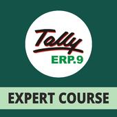 Tally ERP 9 Expert GST Course Hindi icon