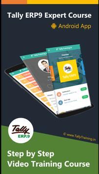 Tally ERP 9 Expert GST Course Hindi apk screenshot