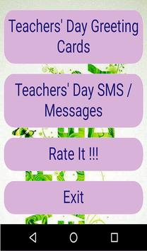 Teachers Day Greetings poster