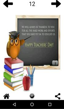 Teachers Day Greetings apk screenshot