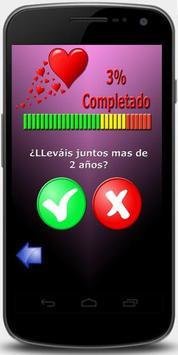 Test de Amor (BROMA-SUSTO) apk screenshot