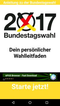 Bundestagswahl 2017-18 poster