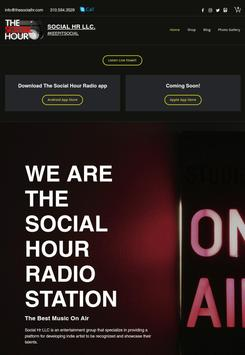 The Social Hour Radio poster