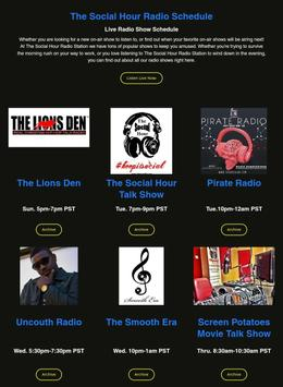 The Social Hour Radio apk screenshot