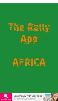 The Rally App - Africa poster