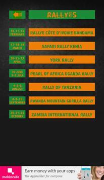 The Rally App - Africa apk screenshot