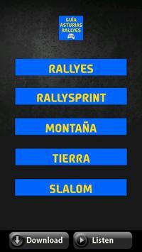 The Rally App - Asturias poster
