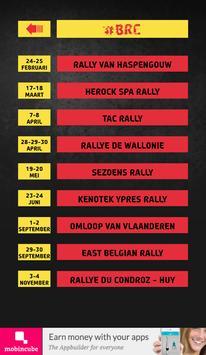 The Rally App - Belgique apk screenshot